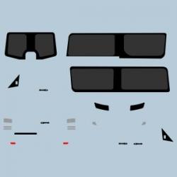 F12 Decalbogen schwarze Fläche alle Maßstäbe