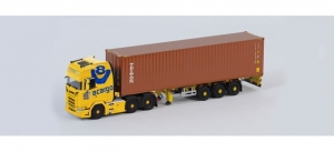 Scania CS 20 HD 6x2 Container-Sattelzug