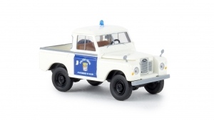 Land Rover 88 Hardtop Police Local,