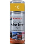 16 Humbrol Acryl-Spray Gold metallic