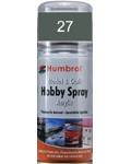27 Humbrol Acryl-Spray See-Grau matt