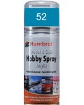 52 Humbrol Acryl-Spray Baltisch-Blau metallic