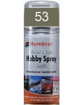 53 Humbrol Acryl-Spray Metallgrau metallic