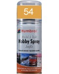 54 Humbrol Acryl-Spray Messing metallic