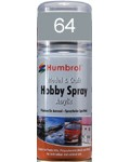 64 Humbrol Acryl-Spray Grau matt
