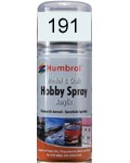 191 Humbrol Acryl-Spray Chromsilber metallic