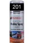 201 Humbrol Acryl-Spray Schwarz metallic
