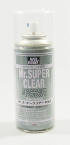 Mr. Super-Clear Spray, Klarlackspray seidenmatt