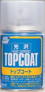 Top-Coat Spray, Klarlackspray glänzend
