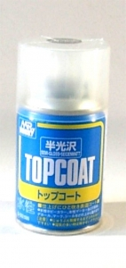 Top-Coat Spray, Klarlackspray seidenmatt