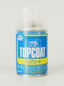 Top-Coat Spray, Klarlackspray matt