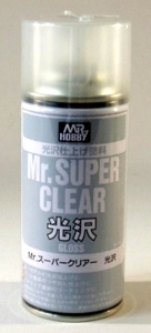 Mr. Super-Clear Spray, Klarlackspray glänzend