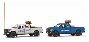 Sarens Ford F250 trucks