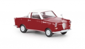 Goggomobil Coupe dunkelrot, weiss