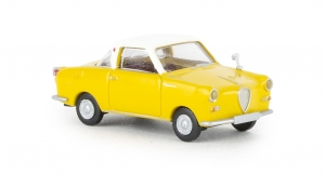 Goggomobil Coupe gelb, weiss