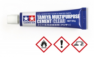 TAMIYA Multipurpose Cement Clear 20 gr.