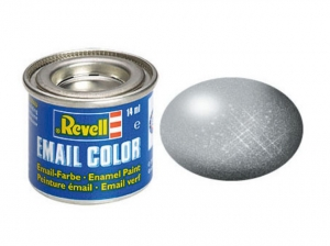 90 Revell Color Email Silber Metallic