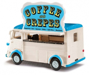 Citroën H, Coffee and Crepes