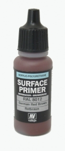 Vallejo Surface Primer German Rotbraun - RAL8012