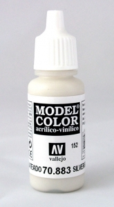 Vallejo Model Color 152 Hellgrau - Silvergrey