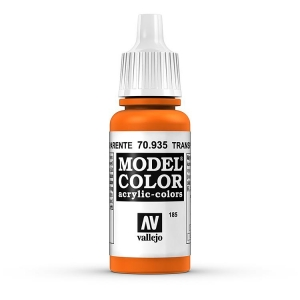 Vallejo Model Color 185 Transparent Orange - Transparent Orange