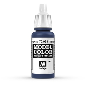 Vallejo Model Color 187 Transparent Blau - Transparent Blue