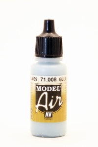 Vallejo Model Air 008 Hellblau - Blue RLM65 - Pale Blue