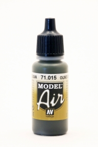 Vallejo Model Air 015 Olivgrau - Dark Green RLM71