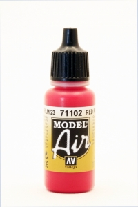 Vallejo Model Air 102 Rot RLM 23 - Red
