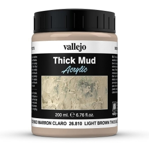 Thick Mud Light Brown 200 ml
