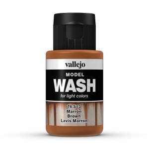 Model Wash 513 Brown - braun