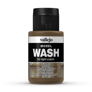 Model Wash 514 Dark Brown - stark braun