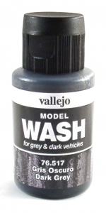 Model Wash 517 Dark Grey - stark grau