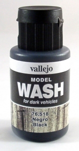 Model Wash 518 Black - schwarz