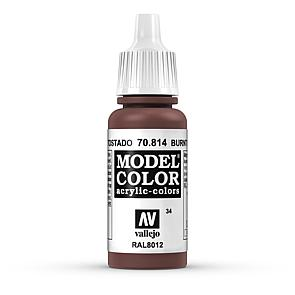 Vallejo Model Color 034 Kadmium Rot Gebrannt - Burnt Cadmium Red