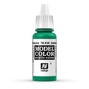 Vallejo Model Color 071 Smaragdgrün - Emerald
