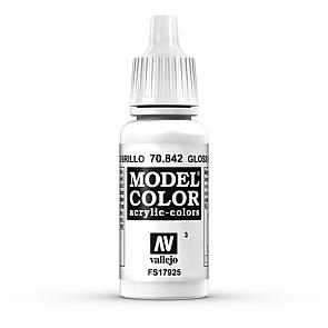 Vallejo Model Color 003 Glanzweiss - Gloss White