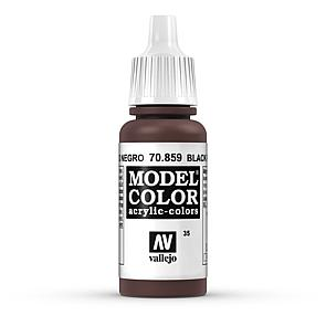 Vallejo Model Color 035 Schwarzrot - Black Red (Cadmium Brown)