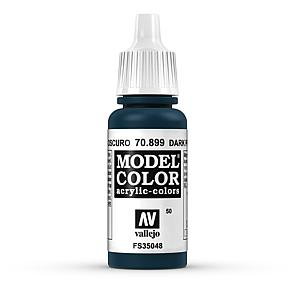 Vallejo Model Color 050 Dunkles Preussisch Blau - Dark Prussian Blue