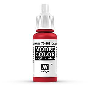 Vallejo Model Color 030 Kaminrot - Camine Red