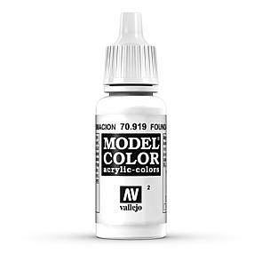 Vallejo Model Color 002 - Untergrund Weiss - Cold White