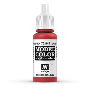 Vallejo Model Color 029 Orientrot - Red