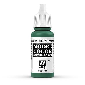 Vallejo Model Color 072 Waldgrün - Deep Green