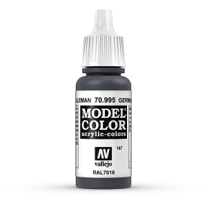 Vallejo Model Color 167 Anthrazitgrau Dunkel - German Grey Dark