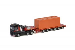 Mammoet SCANIA STREAMLINE HIGHLINE 6x4 SEMI LOWLOADER - 6 AXLE + WOODEN BOX