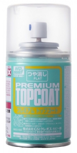 Mr. PREMIUM Top-Coat Spray, Klarlackspray matt