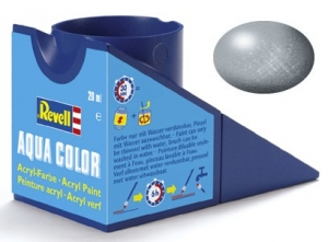 90 Revell Aqua Color Silber Metallic