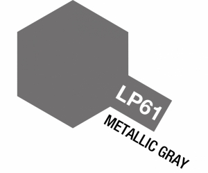 LP-61 Metallic Grau matt 10ml