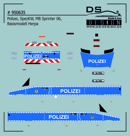 950635 polizei berlin spezialermittlungskraftwagen. Black Bedroom Furniture Sets. Home Design Ideas